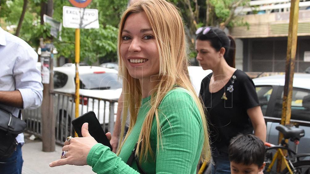 """La diputada del Frente de Todos Gabriela Estévez pidió """"que sea una realidad el lema aborto legal, seguro y gratuito""""."""