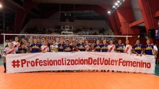 La Liga Argentina comienza con la búsqueda de visibilidad y derechos para las mujeres