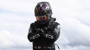 F1: Hamilton le dedicó su triunfo al actor de Pantera Negra
