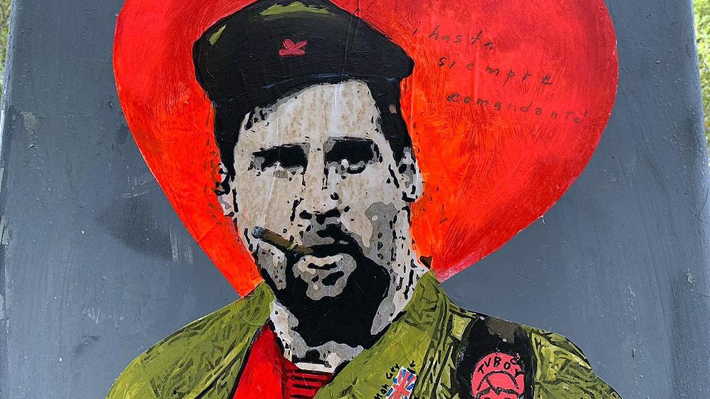 """La intención del artista es resaltar a """"Leo"""" como """"el comandante"""" del equipo """"culé"""""""