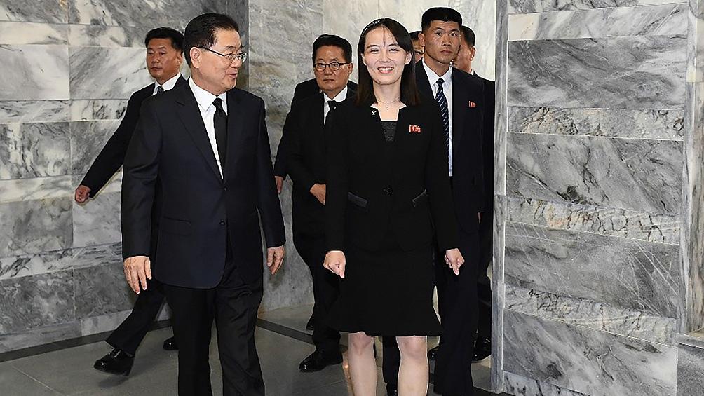 Kim Yo-jong es la hija menor del fallecido líder norcoreano Kim Jong-il