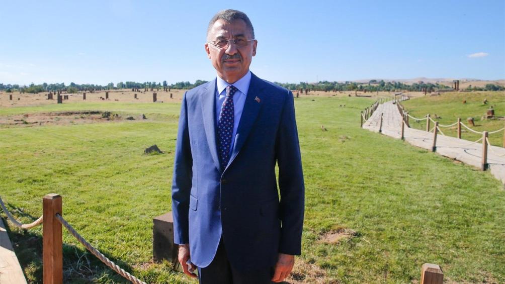 Fuat Oktay, vicepresidente de Turquía, llamó a la UE a actuar con equidad en la disputa con Grecia.