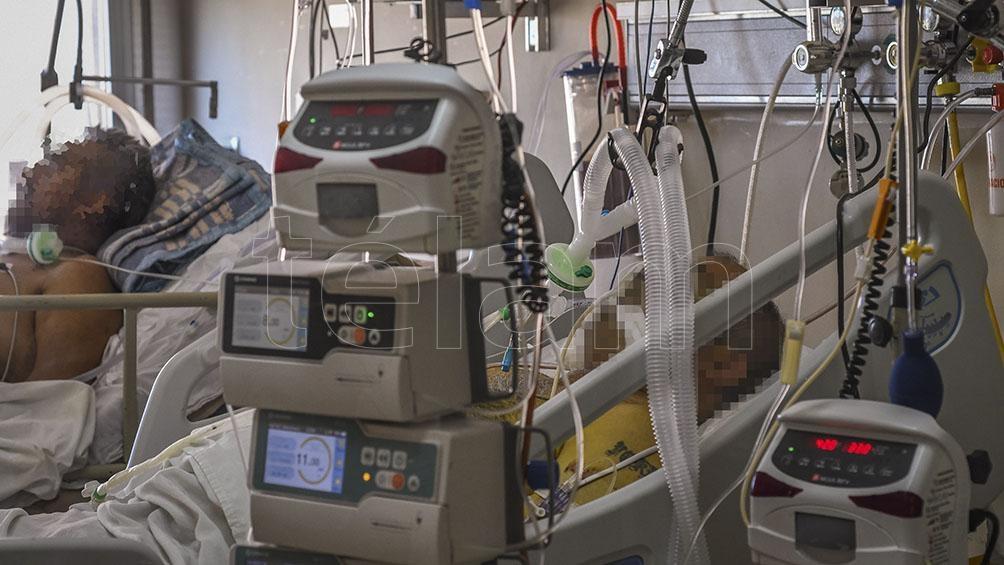 Hay preocupación porque sigue alta la ocupación en las terapias intensivas.