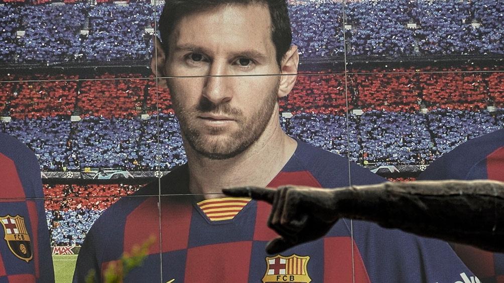 Messi, figura inolvidable para el Barcelona