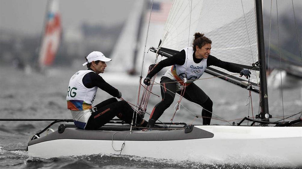 Lange y Carranza, oro olímpico en río 2016 (foto archivo)