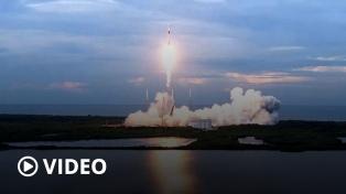 Se lanzó con éxito el Saocom 1B desde una base en Estados Unidos