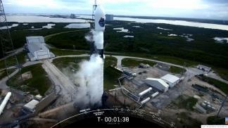 El exitoso lanzamiento del Saocom 1B.