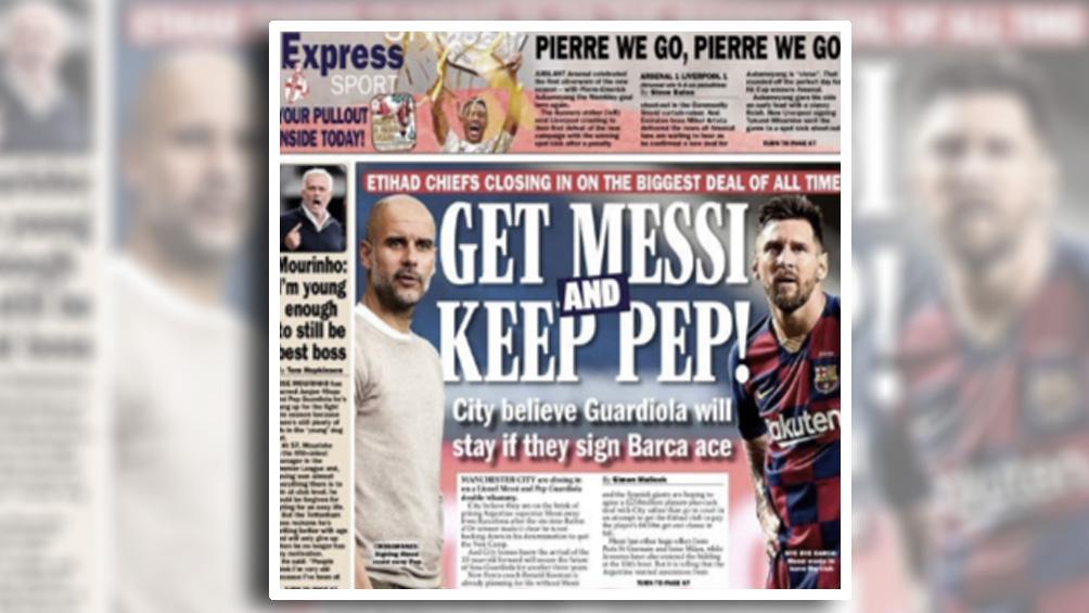 La prensa inglesa habla del