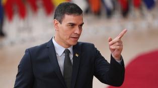 """Sánchez volvió a pedir """"unidad"""" para afrontar la crisis del coronavirus, ante empresarios"""