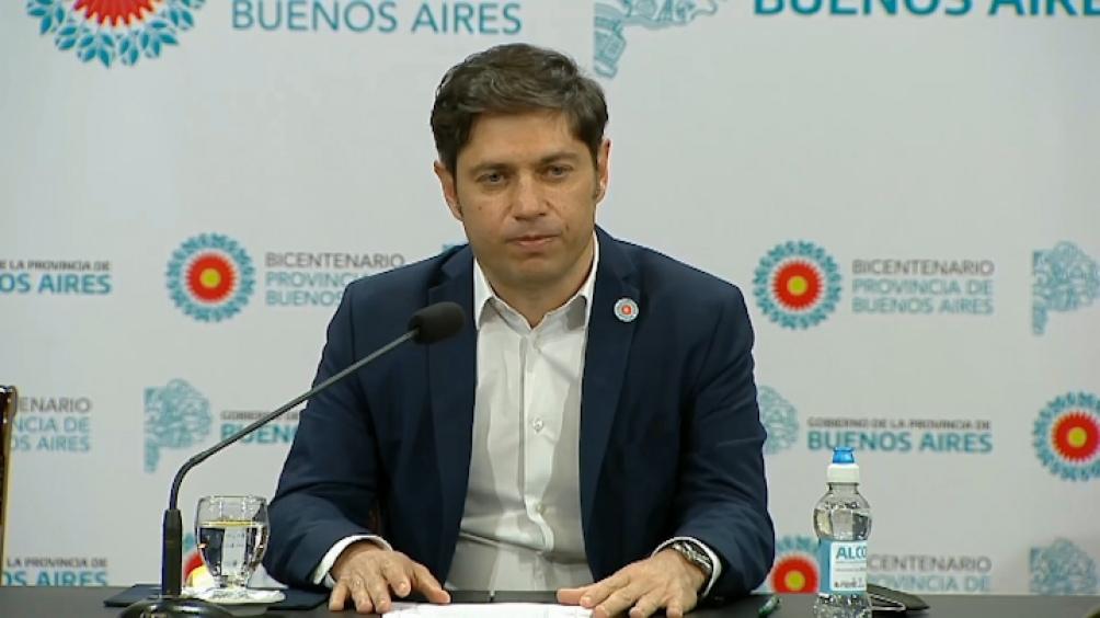 Axel Kicillof gobernador provincia de Buenos Aires