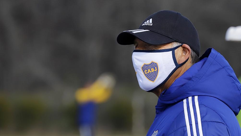 Russo y Boca sufren por los casi 20 casos de coronavirus en el plantel que apunta a la Copa Libertadres (foto archivo)