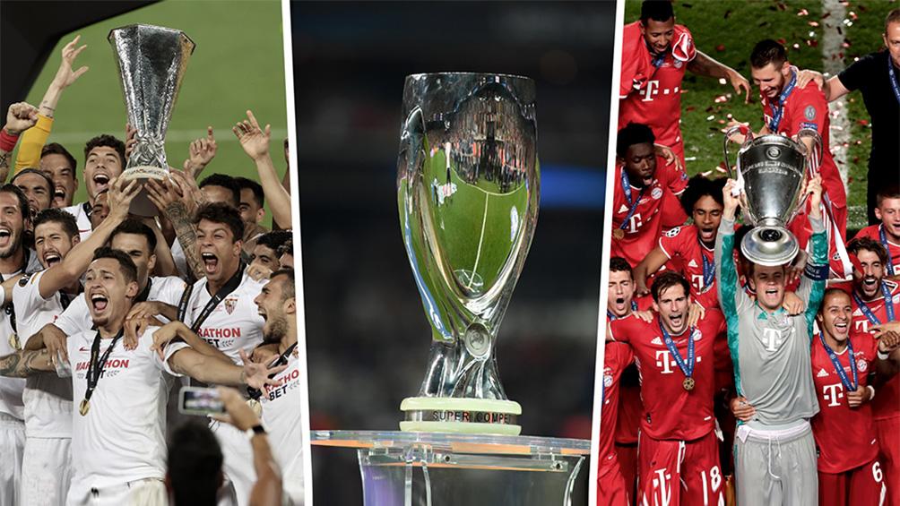 La final de la Supercopa entre Bayer Munich y Sevilla en Budapest está en duda