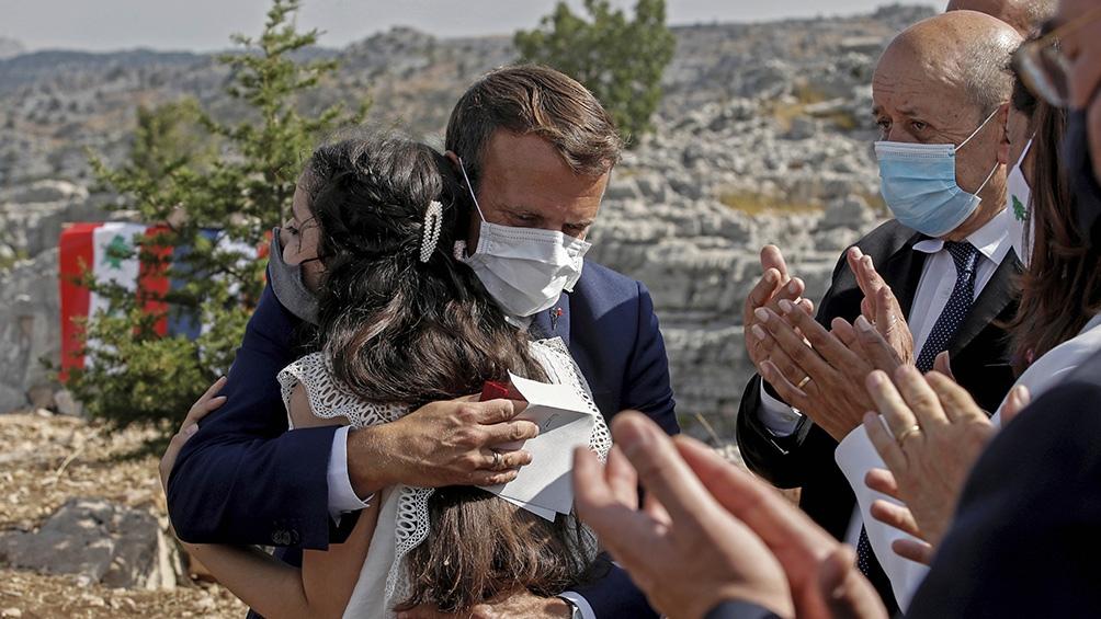 Macron dijo que el proceso de reformas en Líbano podría desembocar en la celebración de elecciones