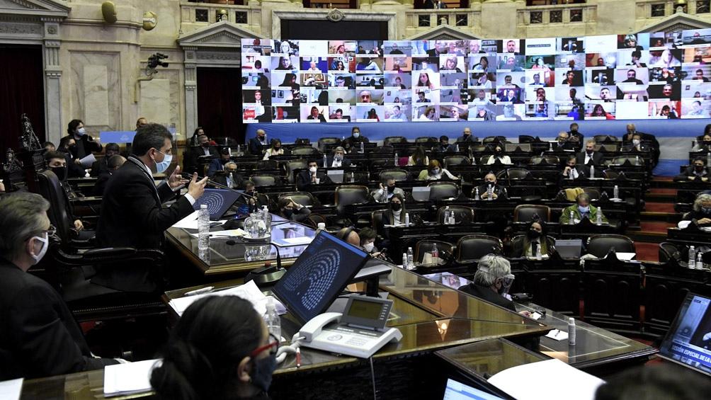 Diputados: jefes de bloques ratificaron la continuidad de las sesiones mixtas
