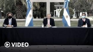 """Alberto Fernández: """"La Argentina central que tiene periferias no se puede tolerar más"""""""