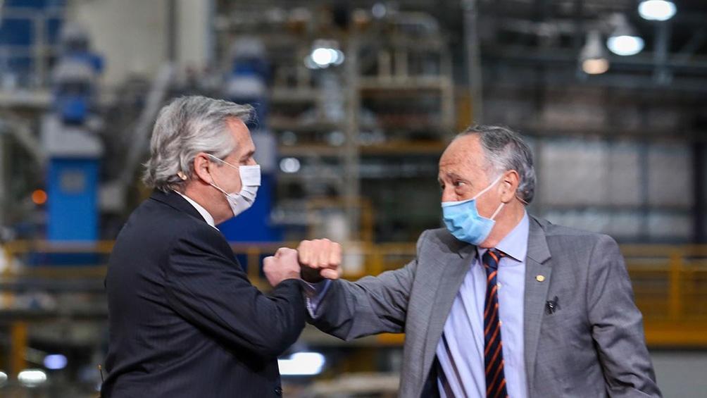 """Acevedo aseguró que la pandemia """"puso a prueba a todos, también a la industria""""."""