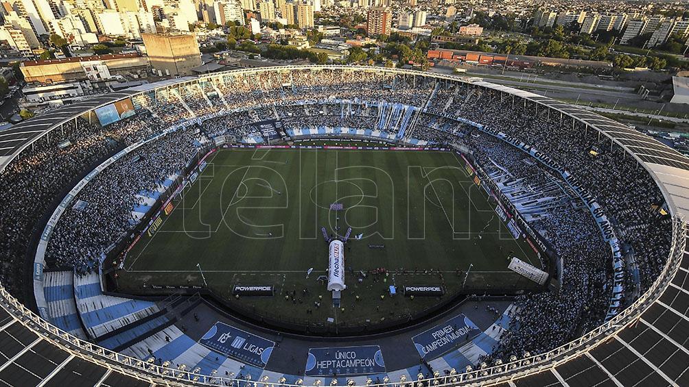 El estadio del Racing Club, el