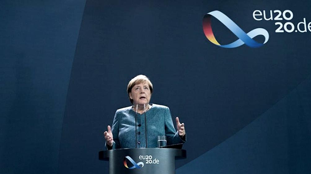"""Merkel se prepara para hacer una """"pausa"""" en su carrera política. Foto: EFE."""