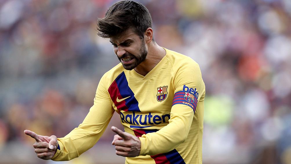 Gerard Piqué será el nuevo capitán del Barcelona si Messi no sigue en el club