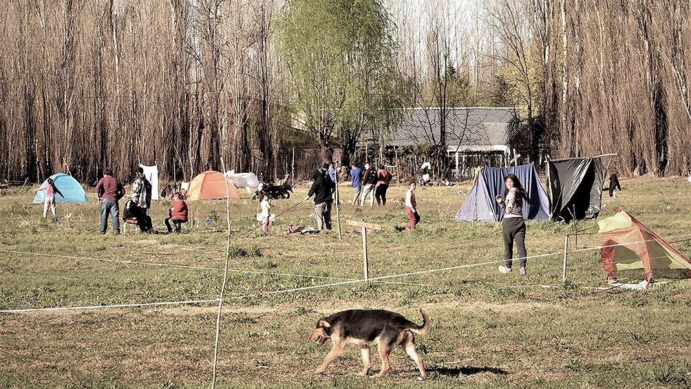 Toma de tierras en Villa Mascardi