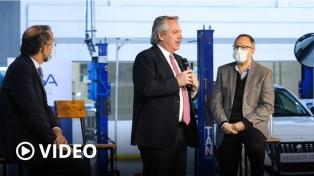 """Fernández pidió """"recuperar"""" la economía productiva y criticó la """"especulación"""" financiera"""