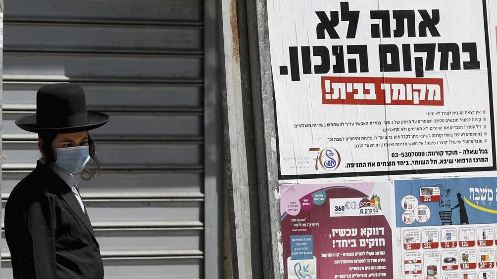 En Israel se registraron 6.808 nuevos casos en las últimas 24 horas