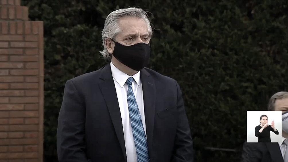 Alberto Fernández iba a visitar el lunes Mendoza por primera vez como jefe de Estado