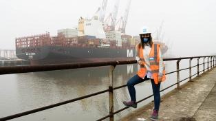 """Por primera vez en la historia bonaerense una mujer preside un puerto: """"Hay mucho por hacer"""""""