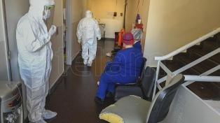 Murieron 553 personas y 32.291 fueron reportadas con coronavirus en el país