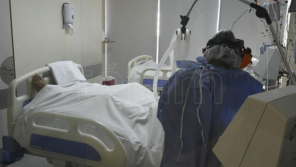 El Ministerio de Salud indicó que son 3.118 los internados en unidades de terapia intensiva