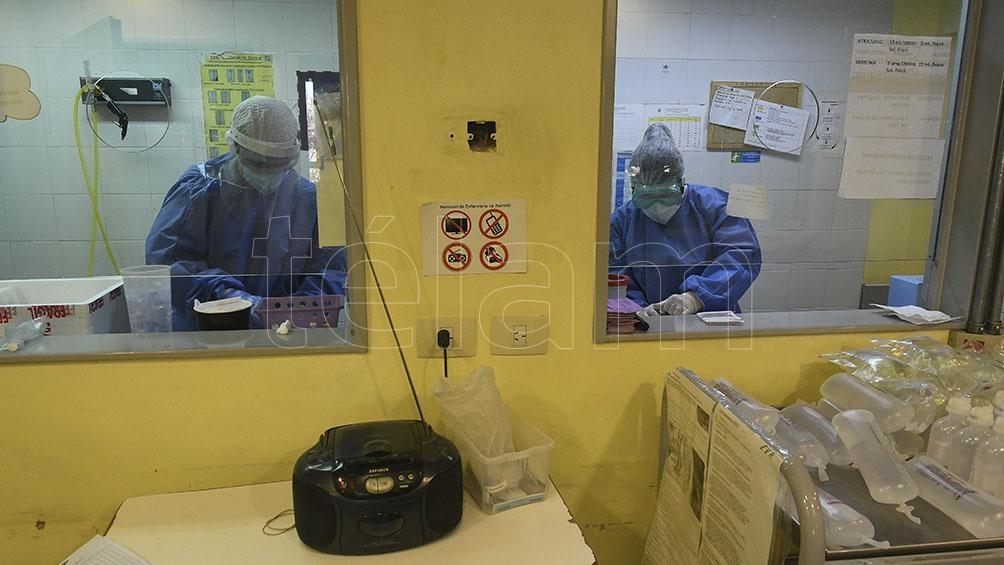 La cartera sanitaria indicó que son 3.505 los internados en unidades de terapia intensiva