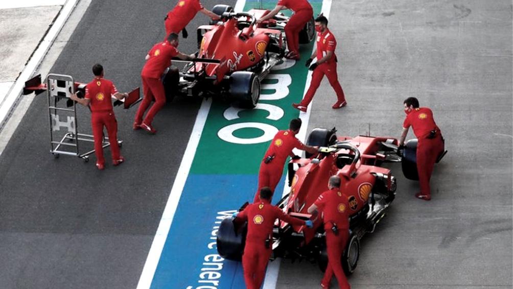 Ferrari, 1.000 carreras, 238 victorias y 16 copas de Constructores.