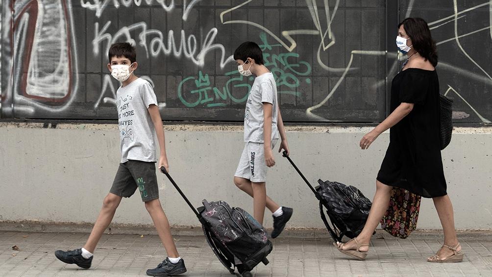 Las escuelas de España, Italia, Austria y Croacia volvieron a funcionar, en medio de la segunda ola de coronavirus