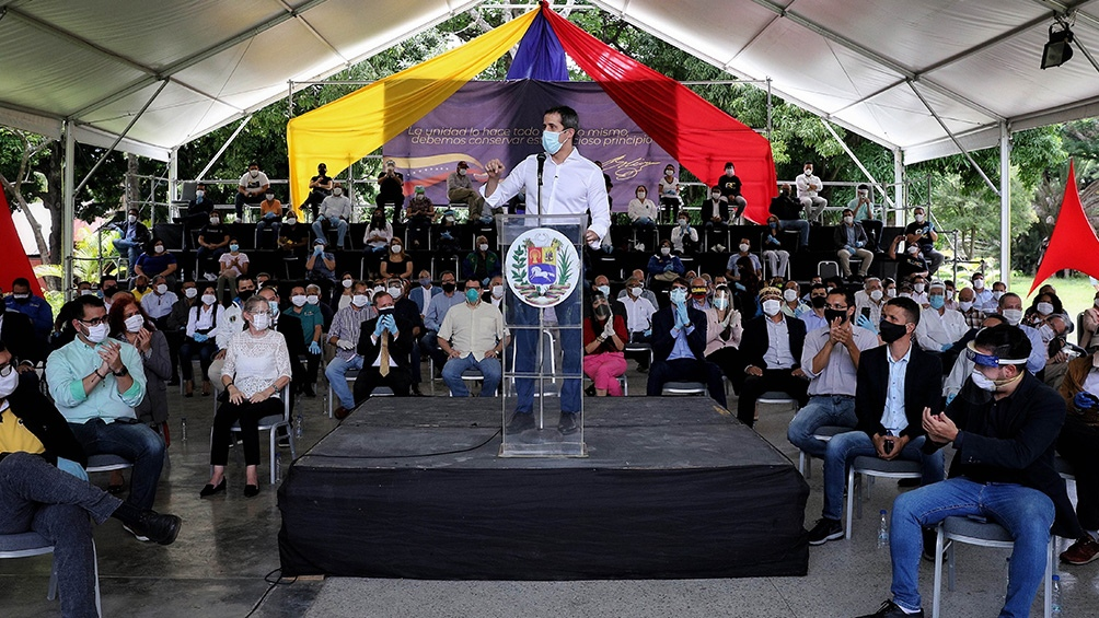 Guaidó llamó a protestar en las calles de Venezuela el 5 de octubre
