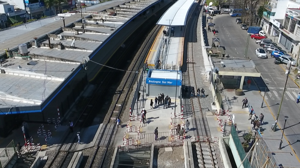 El crimen ocurrió en la zona de la estación de Boulogne.
