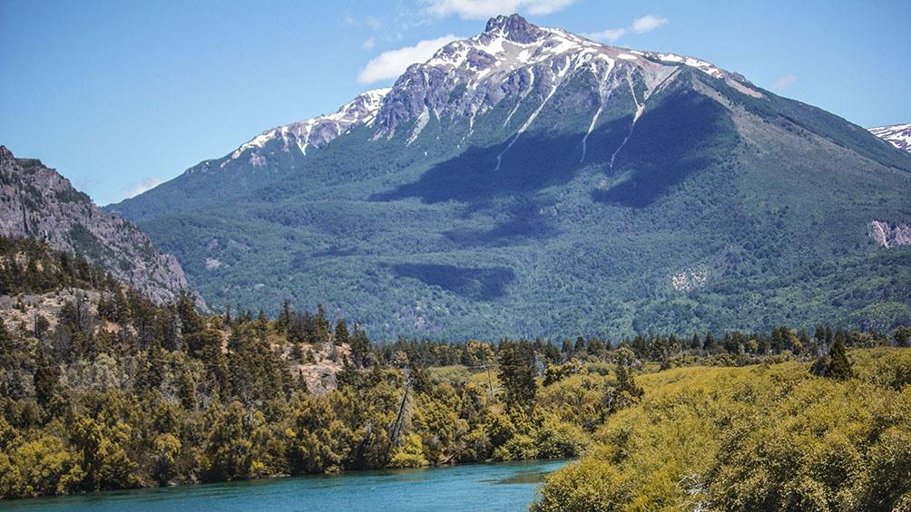 El Parque Nacional Los Alerces, una de las bellezas del sur argentino.