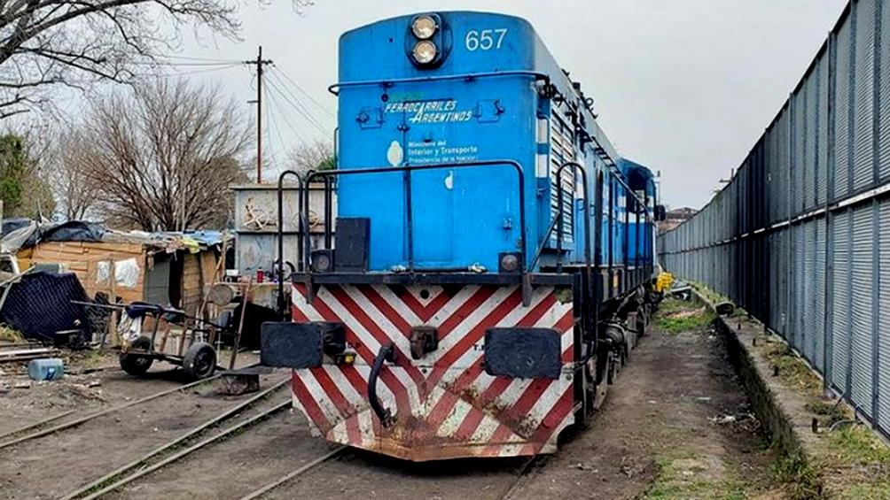 La empresa Trenes Argentinos dispuso un esquema provisorio de micros para el traslado de pasajeros.