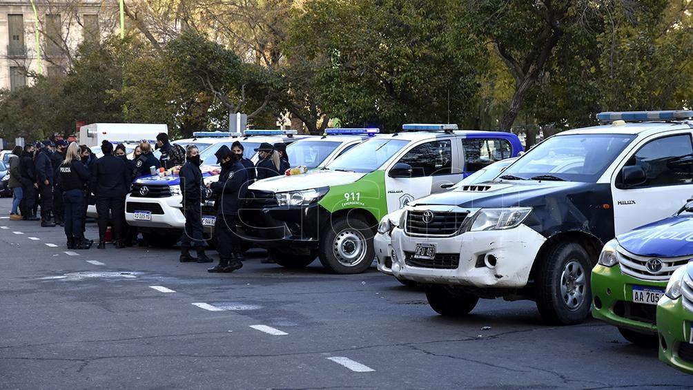 Protestas en Bahía Blanca.