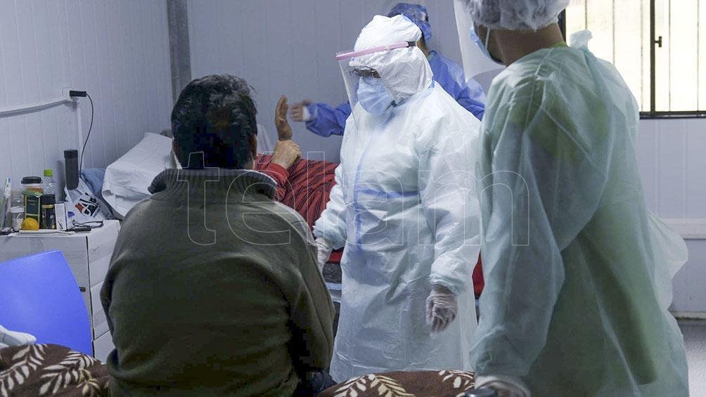 Hay 3.604 personas internadas en unidades de terapia intensiva.
