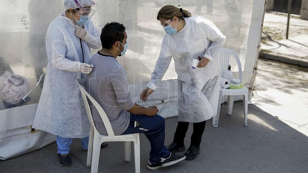 La ocupación de camas de adultos por coronavirus de 35,1% en el país y del 40,8% en la Área Metropolitana Buenos Aires.