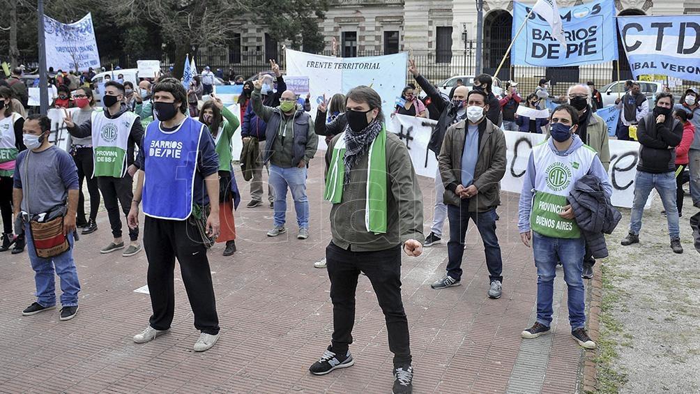 Barrios de Pie se movilizará esta tarde hacia la Plaza de Mayo