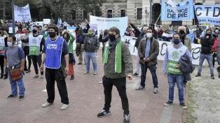 Organizaciones sociales suspenden marcha hacia la Residencia de Olivos