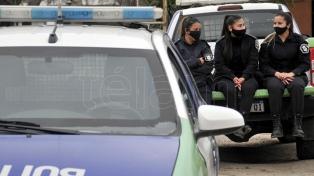 """Continúan las protestas de policías y anticipan desde la Gobernación """"amplios"""" anuncios"""