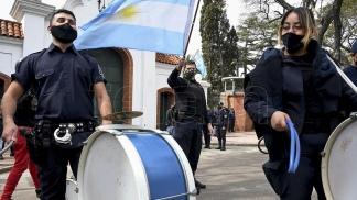 Ayer, la protesta se trasladó a las puertas de la quinta presidencial.