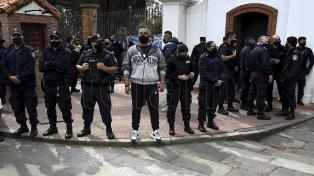 Firme repudio desde los ámbitos políticos y gremiales a la protesta policial en Olivos