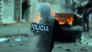 Duque defendió a la Policía tras las protestas en Bogotá