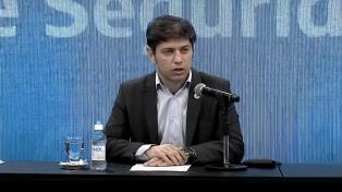 Kicillof define si extiende el plazo para reestructurar la deuda de la provincia