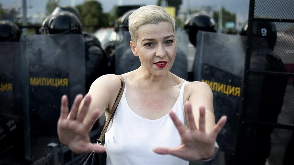 Kolesnikova denunció a miembros de los servicios de seguridad