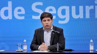 """Kicillof agradeció la decisión presidencial: """"Comienza un camino de recuperación"""""""