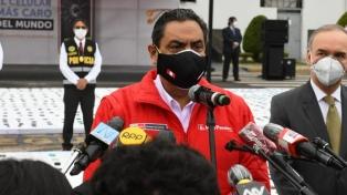 Renunció el ministro del Interior de Perú